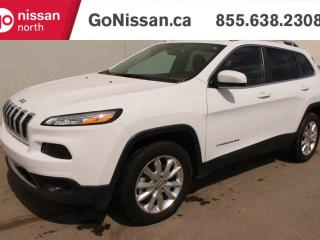 Used 2016 Jeep Cherokee Limited, 4x4, LEATHER, HEATED STEERING WHEEL, COOLED SEATS! for sale in Edmonton, AB