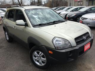 Used 2008 Hyundai Tucson GL/ALLOYS/AUTO/LOADED/ALLOYS/ROOF RACKS for sale in Scarborough, ON