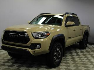 Used 2017 Toyota Tacoma TRD Off-Road 4x4 Double Cab - Local One Owner Trade In | No Accidents | 3M Protection Applied | Very Well Looked After | Heated Seats | Dual Zone Climate Control with AC | Navigation | Back Up Camera | Push Button Start/Entry | Roof Rails | Trunk Liner |  for sale in Edmonton, AB
