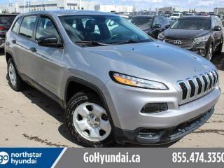 Used 2015 Jeep Cherokee SPORT/BACK UP/BLUETOOTH/AC/CRUISE for sale in Edmonton, AB