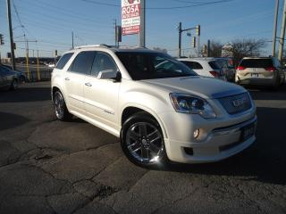 Used 2012 GMC Acadia DENALI AWD  PANORAMIC FULLY LOADED AWD  NAVI BAC for sale in Oakville, ON