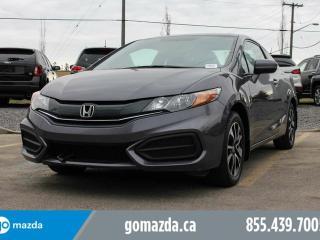 Used 2014 Honda Civic EX COUPE ALLOYS SUNROOF HEATED SEATS for sale in Edmonton, AB