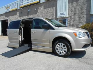Used 2016 Dodge Grand Caravan SXT- Wheelchair Accessible Side Entry Conversion for sale in London, ON