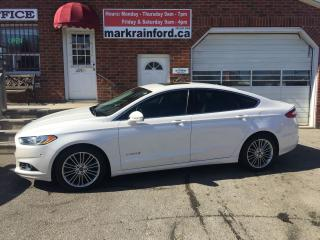 Used 2013 Ford Fusion Hybrid SE NAV, Leather, Roof, Rear Camera for sale in Bowmanville, ON
