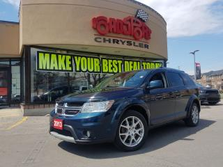 Used 2013 Dodge Journey Crew 7 PASS H-TED WHEEL V6 P-ROOF for sale in Scarborough, ON