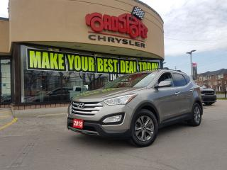 Used 2015 Hyundai Santa Fe SPORT HEATED SEATS, FOG LIGHTS, BLUETOOTH, TRAILER for sale in Scarborough, ON