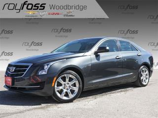 Used 2016 Cadillac ATS Turbo, SUNROOF, HEATED SEATS, BACKUP CAM for sale in Woodbridge, ON