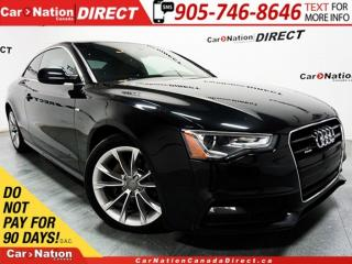 Used 2015 Audi A5 2.0T Komfort| AWD| SUNROOF| OPEN SUNDAYS| for sale in Burlington, ON