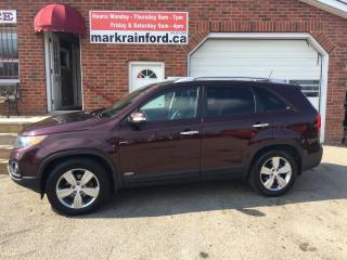Used 2013 Kia Sorento EX Luxury Nav, Pano roof Bluetooth Leather AWD V6 for sale in Bowmanville, ON