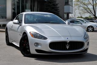 Used 2010 Maserati GranTurismo S Auto for sale in Oakville, ON