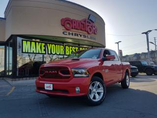 Used 2018 RAM 1500 SPORT REAR CAM SPORT HOOD APPLE CARPLAY for sale in Scarborough, ON