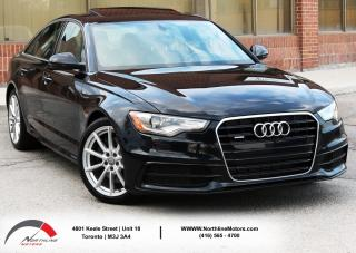 Used 2015 Audi A6 2.0T Technik|S Line| Navigation|Sunroof for sale in Toronto, ON