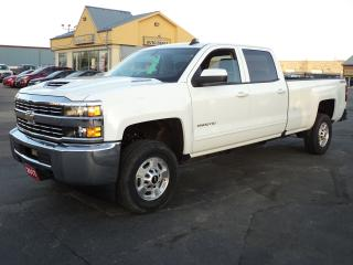 Used 2017 Chevrolet Silverado 2500 LTCrewCab 4X4 6.6L DuamaxDiesel 8ft Box for sale in Brantford, ON