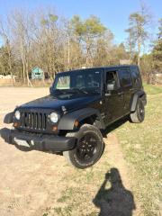 Used 2010 Jeep Wrangler Black for sale in London, ON