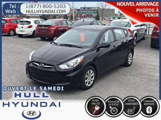 Used 2014 Hyundai Accent GL A/C for sale in Gatineau, QC