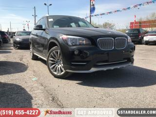 Used 2015 BMW X1 xDrive28i | AWD | ROOF | LEATHER | HEATED SEATS for sale in London, ON