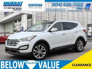 Used 2013 Hyundai Santa Fe Sport 2.0T SE  **LEATHER**SUNROOF**BLUETOOTH** for sale in Surrey, BC