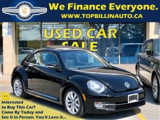 Used 2013 Volkswagen Beetle 2.0 TDI Highline, 6 Speed Manual, Navigation for sale in Concord, ON