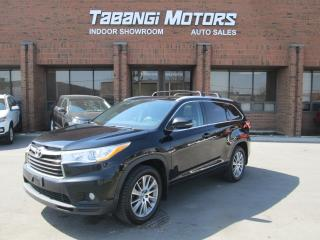 Used 2015 Toyota Highlander XLE   AWD   NO ACCIDENTS   NAVIGATION   LEATHER   SUNROOF for sale in Mississauga, ON