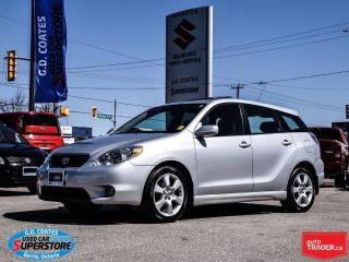 Used 2008 Toyota Matrix XR ~Power Moonroof ~Alloy Wheels for sale in Barrie, ON