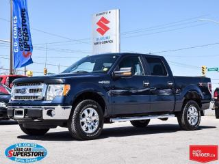 Used 2014 Ford F-150 XLT Super Crew 4x4 ~5.0L V8 ~Backup Camera for sale in Barrie, ON