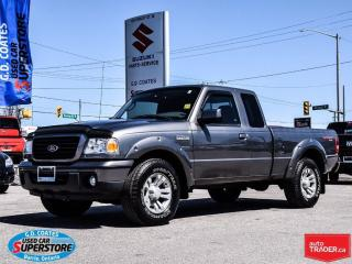 Used 2008 Ford Ranger Sport Super Cab 4x4  ~Low Mileage ~Very Clean for sale in Barrie, ON