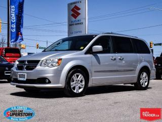 Used 2012 Dodge Grand Caravan Crew ~Full Stow 'N Go ~Power Seat for sale in Barrie, ON