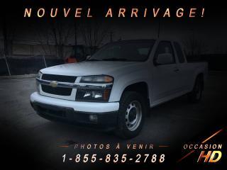 Used 2011 Chevrolet Colorado LT + LONG BOX + FOGS + ONSTAR + 129.5 PO for sale in Drummondville, QC
