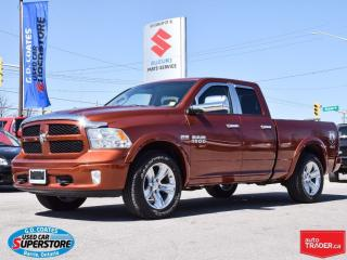Used 2013 Dodge Ram 1500 Outdoorsman Quad 4x4 ~Air Suspension ~Backup Cam for sale in Barrie, ON