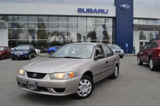Used 2002 Toyota Corolla CE for sale in Port Coquitlam, BC