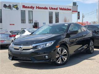 Used 2016 Honda Civic COUPE EX-T Honda Sensing for sale in Mississauga, ON