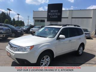 Used 2011 Subaru Forester X Limited | HEATED SEATS | SUNROOF | NO ACCIDENTS for sale in Kitchener, ON