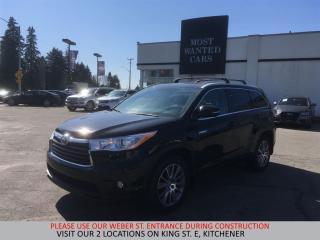 Used 2015 Toyota Highlander HYBRID XLE | NAVIGATION | LEATHER | CAMERA for sale in Kitchener, ON
