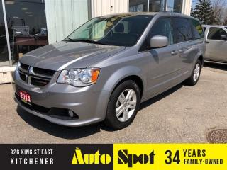 Used 2014 Dodge Grand Caravan Crew/POWER SLIDING REAR DOORS-PRICED- QUICK SALE for sale in Kitchener, ON