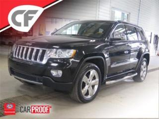 Used 2011 Jeep Grand Cherokee Overland Volant Ch for sale in Lévis, QC