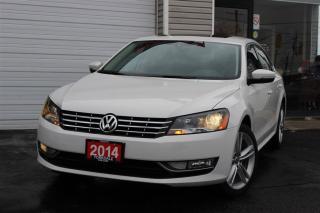 Used 2014 Volkswagen Passat 2.0 TDI Highline, Navigation, Camera, Leather for sale in Toronto, ON