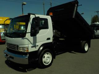 Used 2008 Ford Lcf 550 Regular Cab Dually 2WD Diesel with Dump Box for sale in Burnaby, BC