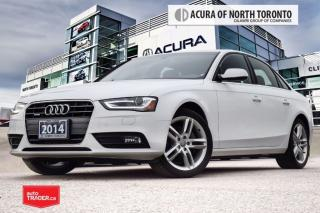 Used 2014 Audi A4 2.0 8sp Tiptronic Technik Accident Free| Navigatio for sale in Thornhill, ON