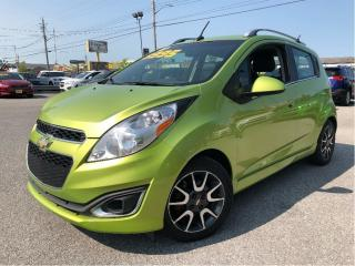 Used 2013 Chevrolet Spark 2LT Auto LEATHER HEATED FRONT SEATS for sale in St Catharines, ON
