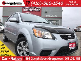 Used 2011 Kia Rio5 EX Convenience | HTD SEATS | BLUETOOTH | PWR OPTS for sale in Georgetown, ON