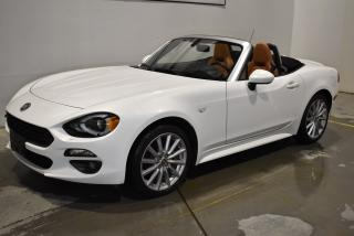Used 2017 Fiat 124 Spider Lusso for sale in Sherbrooke, QC
