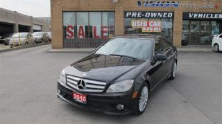 Used 2010 Mercedes-Benz C-Class C250 4MATIC/BACKUP CAMERA/NAVIGATION/HEATED SEATS for sale in North York, ON