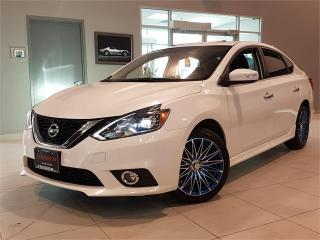 Used 2017 Nissan Sentra 1.6 SR Turbo **NAVIGATION-LEATHER-CAMERA-WHEELS** for sale in York, ON