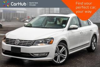 Used 2014 Volkswagen Passat Highline TDI|Nav Pkg|Leather|Heat Frnt.Seats|Fender Audio|18