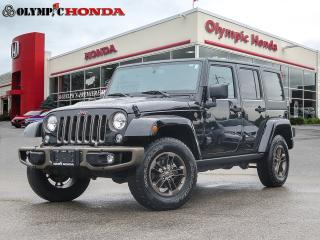 Used 2016 Jeep Wrangler WILLY'S UNLIMITED for sale in Guelph, ON
