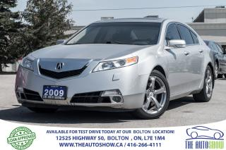 Used 2009 Acura TL SH-3.7L AWD LOW KM'S CERTIFIED for sale in Caledon, ON