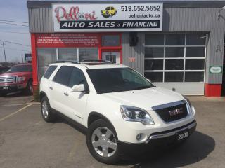 Used 2008 GMC Acadia SLT1 LEATHER/DOUBLE SUNROOF/POWER LIFTGATE for sale in London, ON