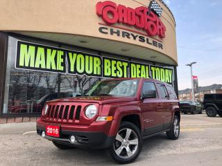 Used 2016 Jeep Patriot High Altitude PWR ROOF LEATHER H-TED SEAT FOGS 4X4 for sale in Scarborough, ON