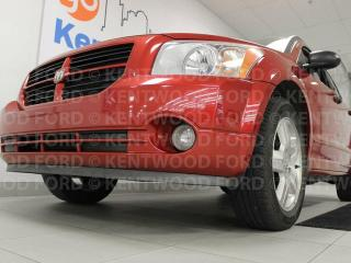 Used 2007 Dodge Caliber SXT 5-SPD manual with pop down speakers for everyone to enjoy for sale in Edmonton, AB