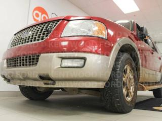 Used 2004 Ford Expedition Eddie Bauer edition, sunroof, heated power leather seats and keyless entry for sale in Edmonton, AB